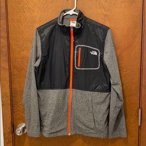 The north face boys fleece jacket size xl new